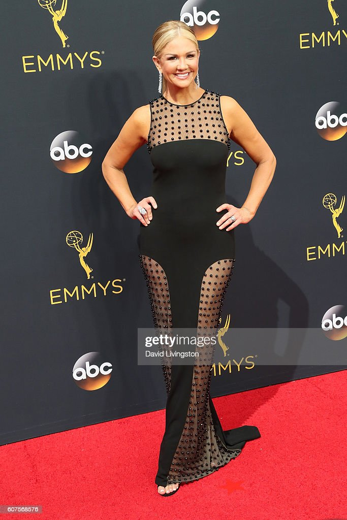 TV personality Nancy O'Dell arrives at the 68th Annual Primetime Emmy Awards at the Microsoft Theater on September 18, 2016 in Los Angeles, California.