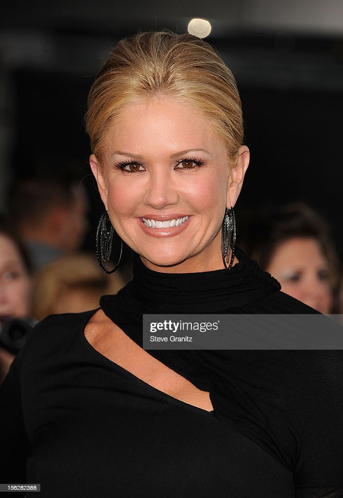 TV Personality Nancy O'Dell arrives at 'The Twilight Saga: Breaking Dawn - Part 2' Los Angeles premiere at Nokia Theatre L.A. Live on November 12, 2012 in Los Angeles, California.