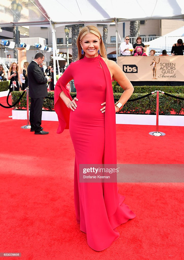 TV Personality Nancy O'Dell attends The 23rd Annual Screen Actors Guild Awards at The Shrine Auditorium on January 29, 2017 in Los Angeles, California. 26592_013