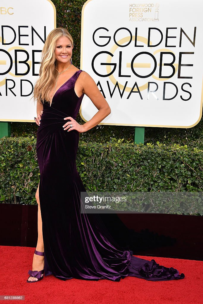 TV personality Nancy O'Dell attends the 74th Annual Golden Globe Awards at The Beverly Hilton Hotel on January 8, 2017 in Beverly Hills, California.