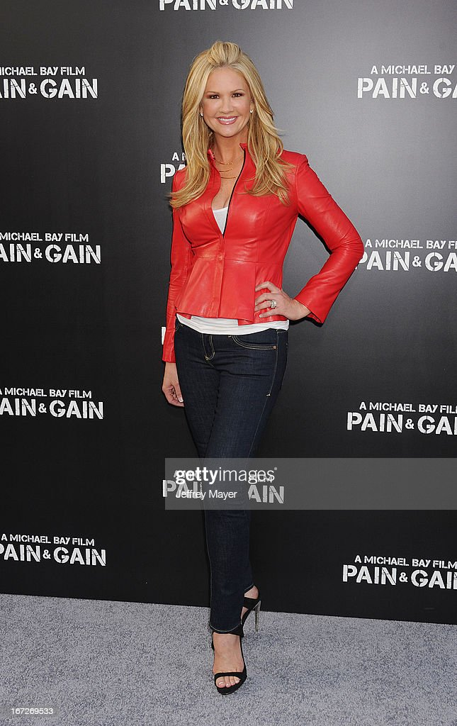 TV Personality Nancy O'Dell attends the 'Pain & Gain' premiere held at TCL Chinese Theatre on April 22, 2013 in Hollywood, California.