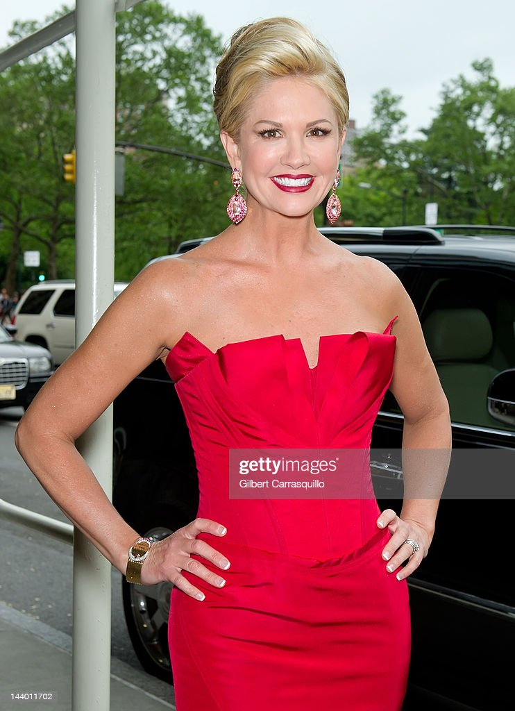 TV personality Nancy O'Dell seen at the Ritz Carlton on May 7, 2012 in New York City.