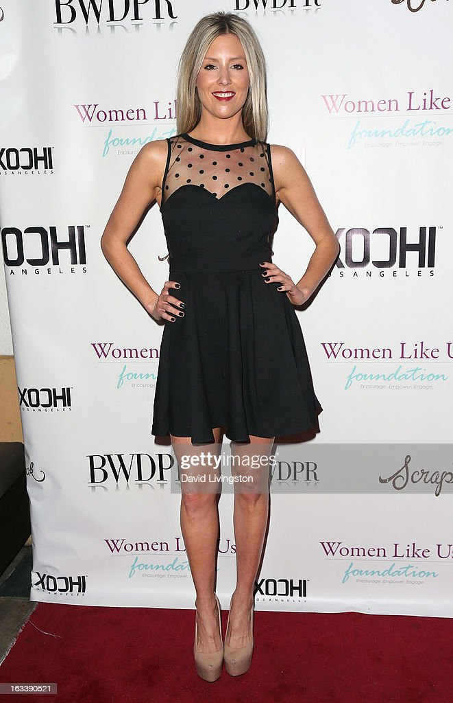 TV personality Natalie Getz attends a Pre-LAFW benefit in support of the Women Like Us Foundation at Lexington Social House on March 8, 2013 in Hollywood, California.