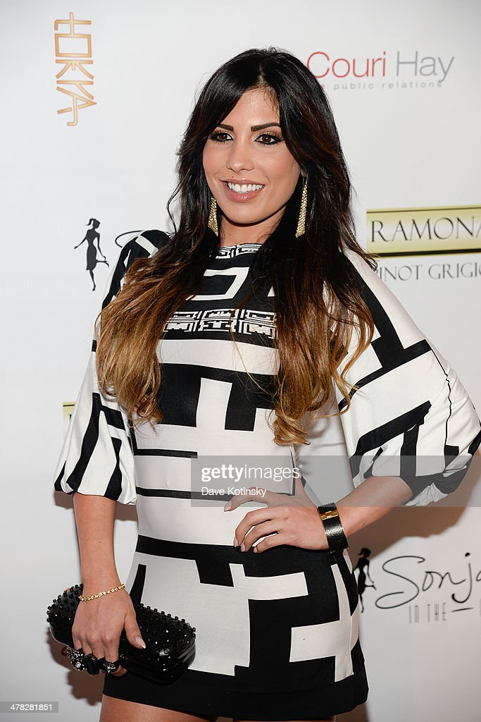 TV personality Natalie Guercio attends attends the 'The Real Housewives Of New York City' season six premiere party at Tokya on March 12, 2014 in New York City.