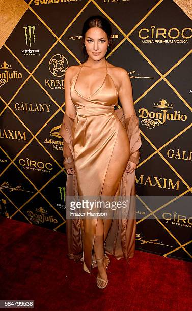 TV personality Natalie Halcro attends the 2016 MAXIM Hot 100 Party at the Hollywood Palladium on July 30 2016 in Los Angeles California