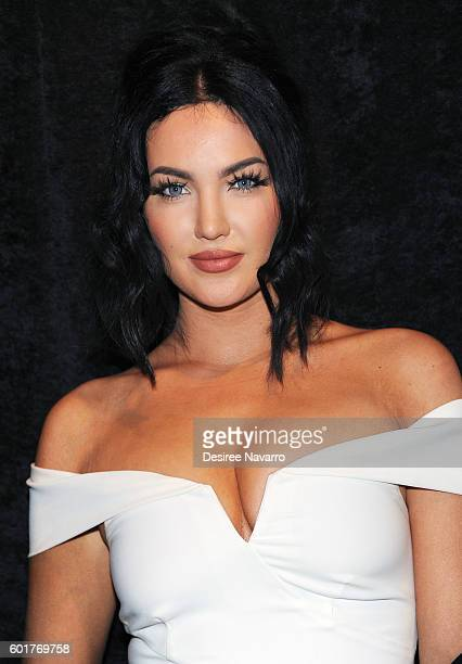 TV personality Natalie Halcro attends the Nicole Miller show during New York Fashion Week The Shows September 2016 at The Gallery Skylight at...