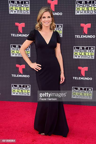 TV personality Natalie Morales attends Telemundo's Latin American Music Awards at the Dolby Theatre on October 8 2015 in Hollywood California