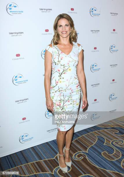 Personality Natalie Morales attends the 2017 Women's Guild CedarsSinai annual Spring luncheon at the Beverly Wilshire Four Seasons Hotel on April 20...