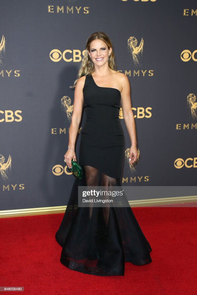 TV personality Natalie Morales attends the 69th Annual Primetime Emmy Awards - Arrivals at Microsoft Theater on September 17, 2017 in Los Angeles, California.