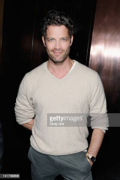 TV personality Nate Berkus attends StyleCaster 50 Most Stylish New Yorkers party at Catch Roof on March 22 2012 in New York City