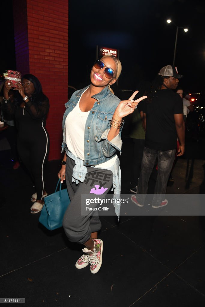 TV personality NeNe Leakes arrives at 2017 Ludaday Weekend Celebrity Bowling Tournament at Bowlmor Lanes on September 1, 2017 in Atlanta, Georgia.