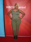 TV personality Nene Leakes arrives at the 2016 Summer TCA Tour NBCUniversal Press Tour at the Four Seasons Hotel Westlake Village on April 1 2016 in...