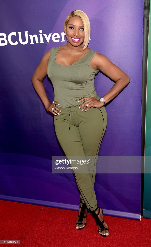 TV personality NeNe Leakes attends the 2016 NBCUniversal Summer Press Day at Four Seasons Hotel Westlake Village on April 1 2016 in Westlake Village...