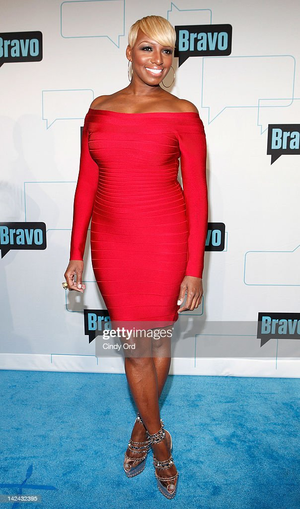 TV personality Nene Leakes attends the Bravo Upfront 2012 at Center 548 on April 4 2012 in New York City