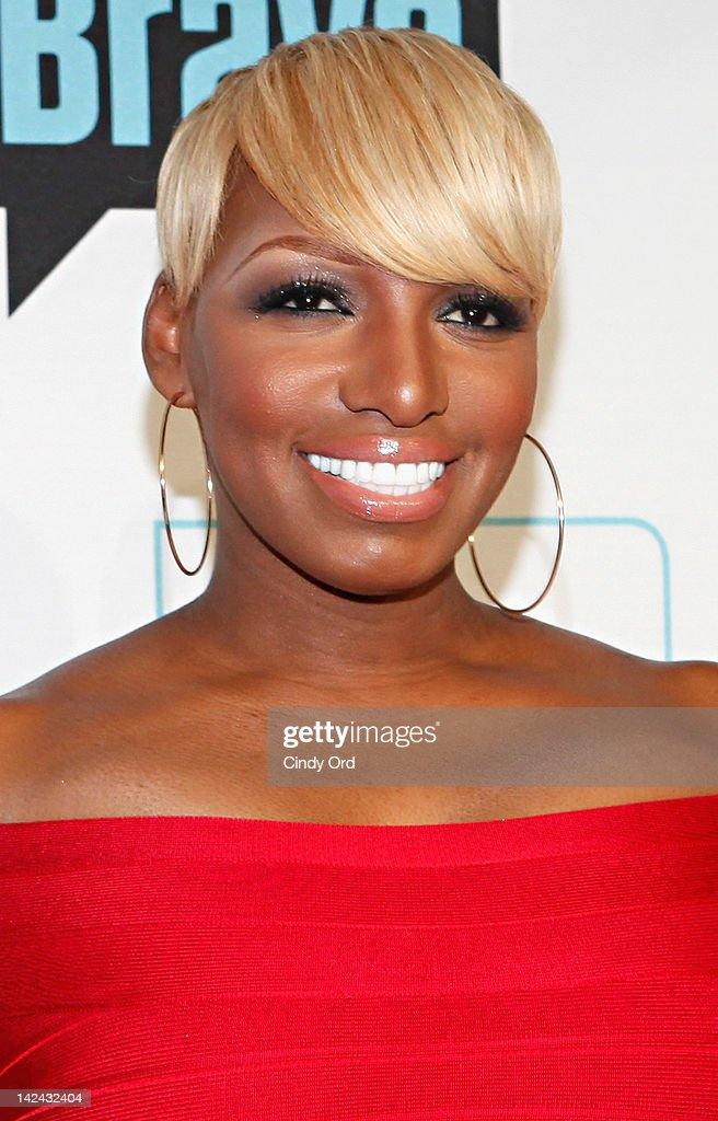 TV personality Nene Leakes attends the Bravo Upfront 2012 at Center 548 on April 4, 2012 in New York City.