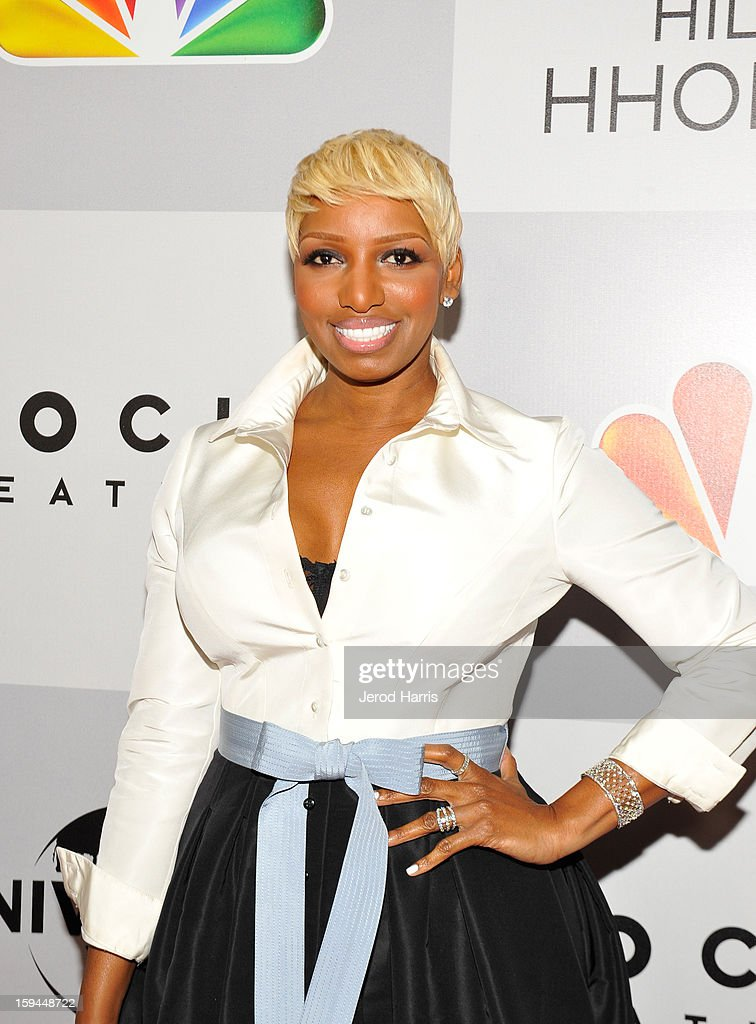 TV personality NeNe Leakes attends the NBCUniversal Golden Globes viewing and after party held at The Beverly Hilton Hotel on January 13, 2013 in Beverly Hills, California.