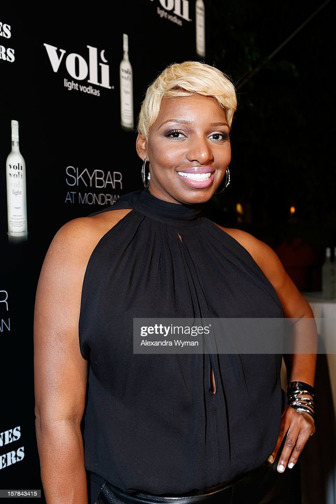 TV personality Nene Leakes attends Voli Light Vodka's Holiday Party hosted by Fergie Benefiting Cellphones for Soldiers at SkyBar at the Mondrian Los Angeles on December 6, 2012 in West Hollywood, California.