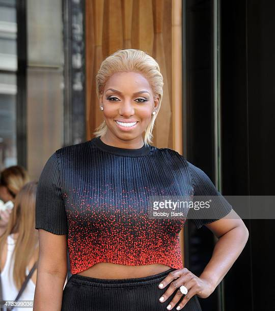 TV personality Nene Leakes seen on the streets of Manhattan on May 14 2015 in New York City