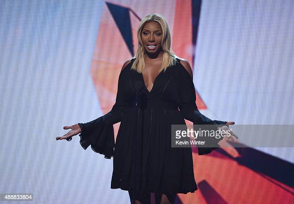 TV personality NeNe Leakes speaks onstage at VH1's 5th Annual Streamy Awards at the Hollywood Palladium on Thursday September 17 2015 in Los Angeles...