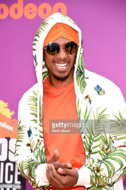 TV personality Nick Cannon attends Nickelodeon Kids' Choice Sports Awards 2017 at Pauley Pavilion on July 13 2017 in Los Angeles California
