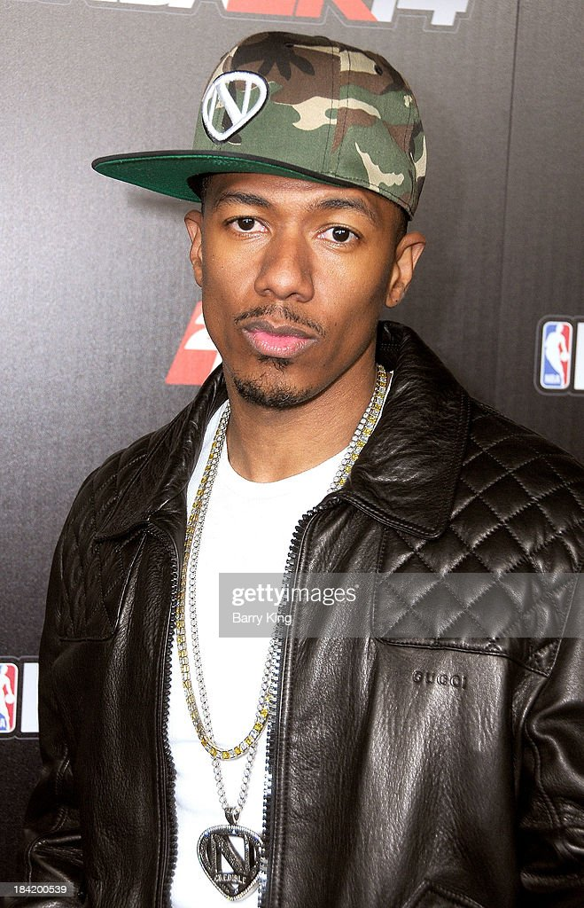 TV personality <a gi-track='captionPersonalityLinkClicked' href=/galleries/search?phrase=Nick+Cannon&family=editorial&specificpeople=202208 ng-click='$event.stopPropagation()'>Nick Cannon</a> attends the NBA 2K14 premiere party on September 24, 2013 at Greystone Manor Supperclub in West Hollywood, California.