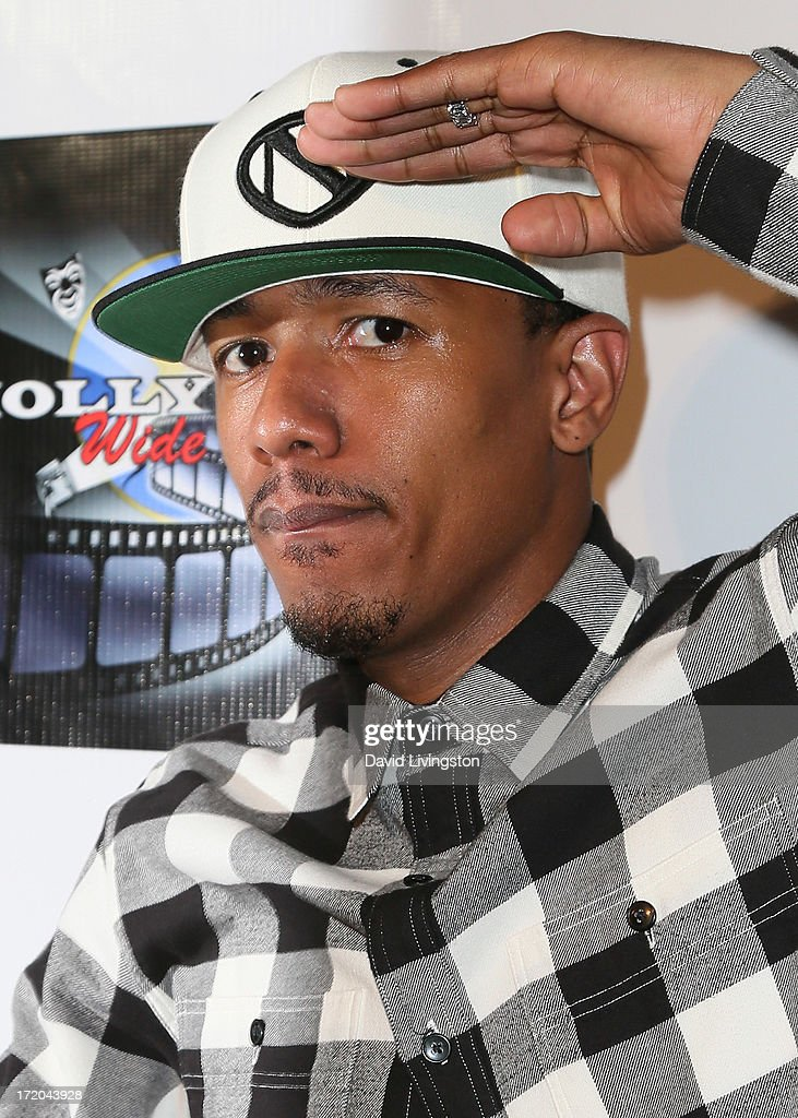 TV personality <a gi-track='captionPersonalityLinkClicked' href=/galleries/search?phrase=Nick+Cannon&family=editorial&specificpeople=202208 ng-click='$event.stopPropagation()'>Nick Cannon</a> attends the 'Party After' BET Awards 2013 hosted by Chris Brown and <a gi-track='captionPersonalityLinkClicked' href=/galleries/search?phrase=Nick+Cannon&family=editorial&specificpeople=202208 ng-click='$event.stopPropagation()'>Nick Cannon</a> at the Belasco Theater on June 30, 2013 in Los Angeles, California.