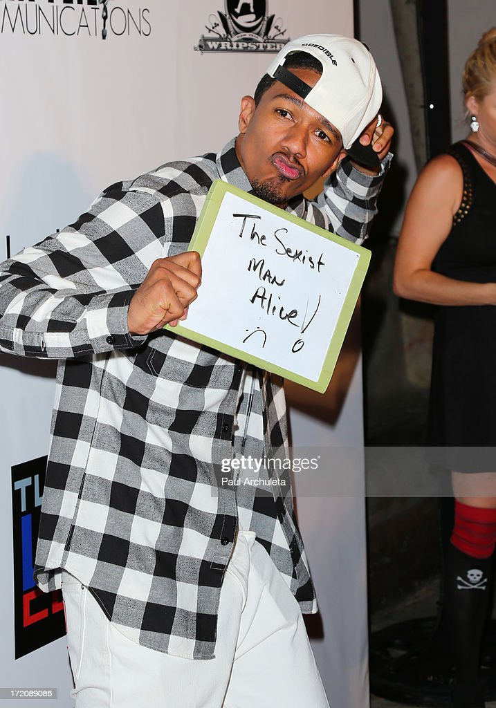 TV Personality <a gi-track='captionPersonalityLinkClicked' href=/galleries/search?phrase=Nick+Cannon&family=editorial&specificpeople=202208 ng-click='$event.stopPropagation()'>Nick Cannon</a> attends the 'Party After' the 2013 BET Awards hosted by Chris Brown and <a gi-track='captionPersonalityLinkClicked' href=/galleries/search?phrase=Nick+Cannon&family=editorial&specificpeople=202208 ng-click='$event.stopPropagation()'>Nick Cannon</a> at The Belasco Theater on June 30, 2013 in Los Angeles, California.