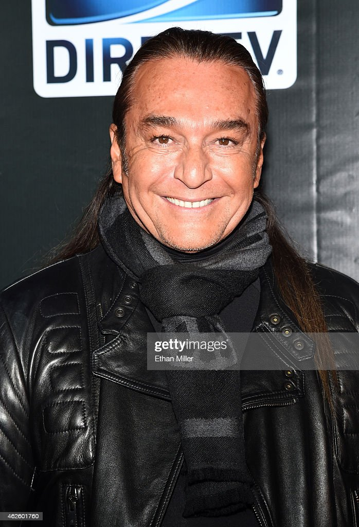 TV personality Nick Chavez attends DirecTV Super Saturday Night hosted by <a gi-track='captionPersonalityLinkClicked' href=/galleries/search?phrase=Mark+Cuban&family=editorial&specificpeople=203295 ng-click='$event.stopPropagation()'>Mark Cuban</a>'s AXS TV and Pro Football Hall of Famer Michael Strahan at Pendergast Family Farm on January 31, 2015 in Glendale, Arizona.