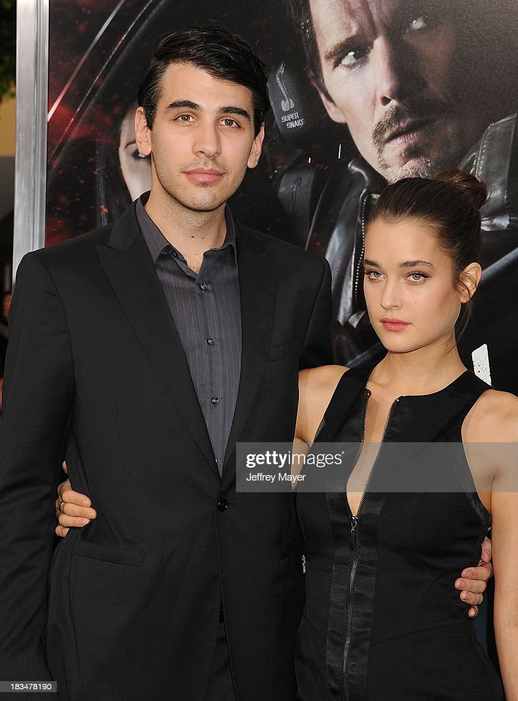 TV personality <a gi-track='captionPersonalityLinkClicked' href=/galleries/search?phrase=Nick+Simmons&family=editorial&specificpeople=650232 ng-click='$event.stopPropagation()'>Nick Simmons</a> arrives at the 'Getaway' - Los Angeles Premiere at Regency Village Theatre on August 26, 2013 in Westwood, California.