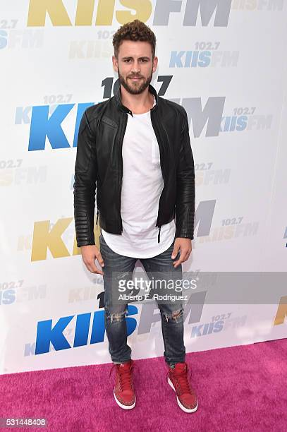TV personality Nick Viall attends KIIS FM's Wango Tango 2016 at StubHub Center on May 14 2016 in Carson California
