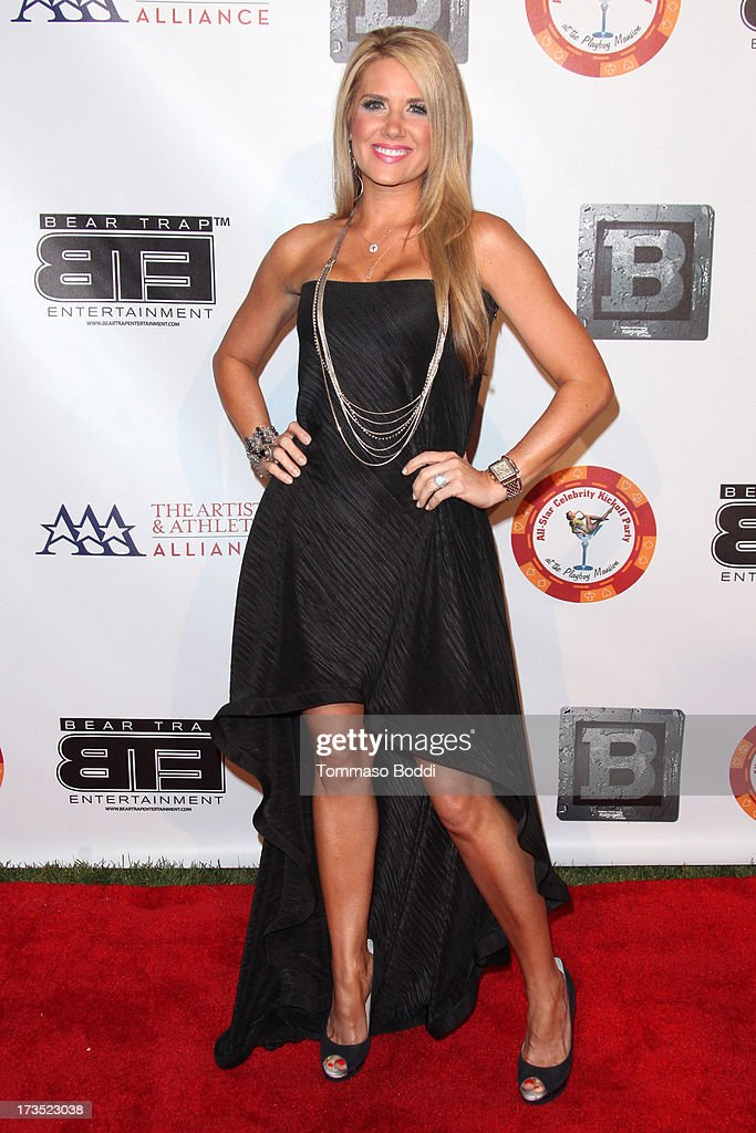TV personality Nicole Clemons Noles attends the 8th annual BTE All-Star Celebrity Kickoff Party held at The Playboy Mansion on July 15, 2013 in Beverly Hills, California.