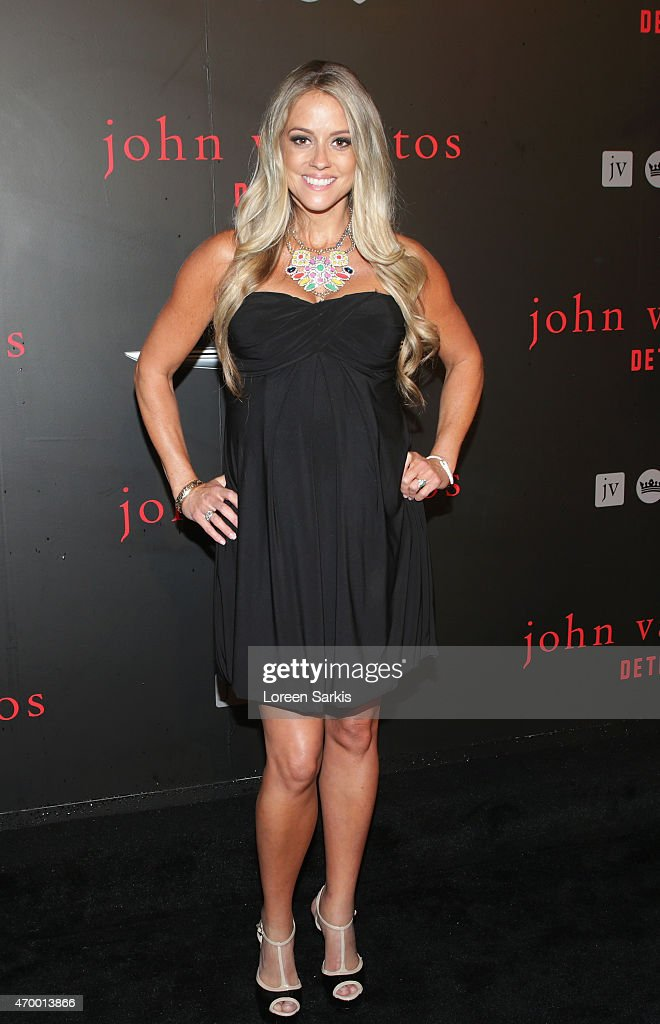 TV personality Nicole Curtis attends John Varvatos Detroit Store Opening Party hosted by Chrysler on April 16, 2015 in Detroit, Michigan.
