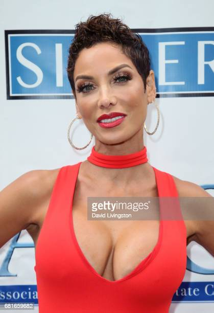 TV personality Nicole Mitchell Murphy attends the Associates for Breast and Prostate Cancer Studies' Annual Mother's Day Luncheon at the Four Seasons...