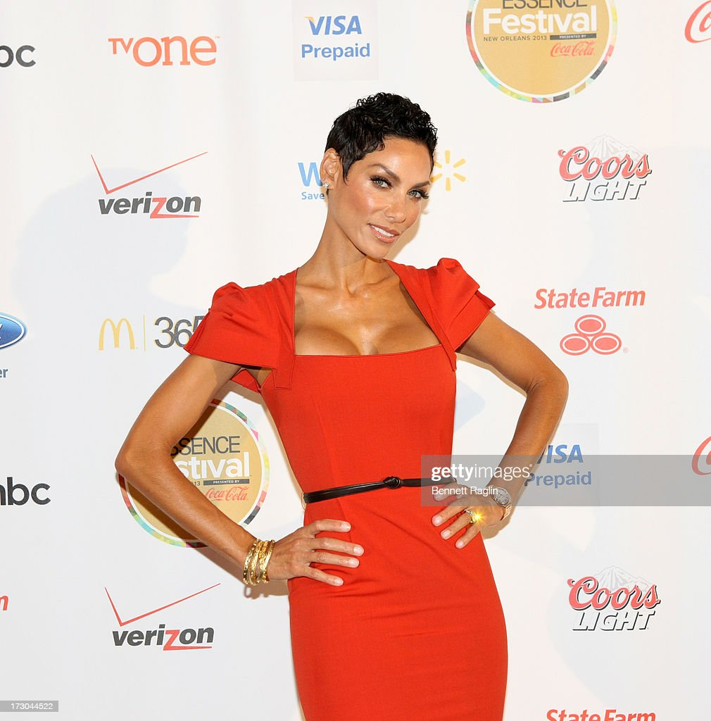 TV personality Nicole Murphy attends the 2013 Essence Festival at the Ernest N. Morial Convention Center on July 5, 2013 in New Orleans, Louisiana.