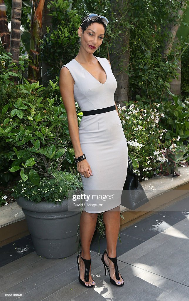 TV personality Nicole Murphy attends The Associates For Breast and Prostate Cancer Studies' Annual Mother's Day Luncheon at the Four Seasons Hotel Los Angeles at Beverly Hills on May 8, 2013 in Beverly Hills, California.
