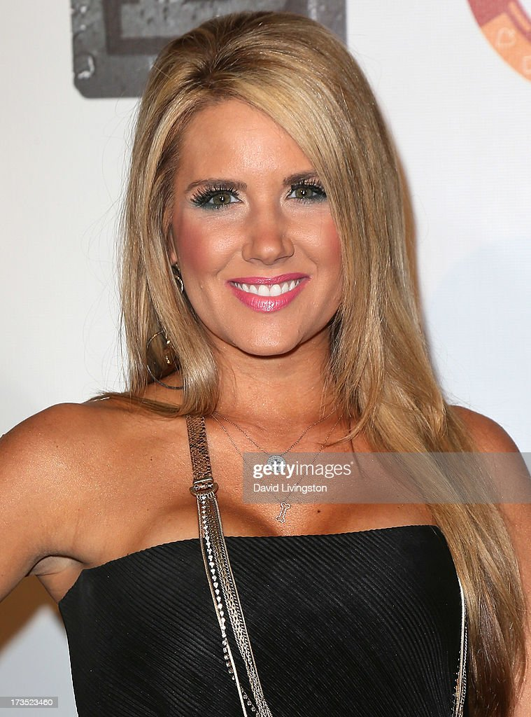 TV personality Nicole Noles attends the 8th Annual BTE All-Star Celebrity Kickoff Party at the Playboy Mansion on July 15, 2013 in Beverly Hills, California.