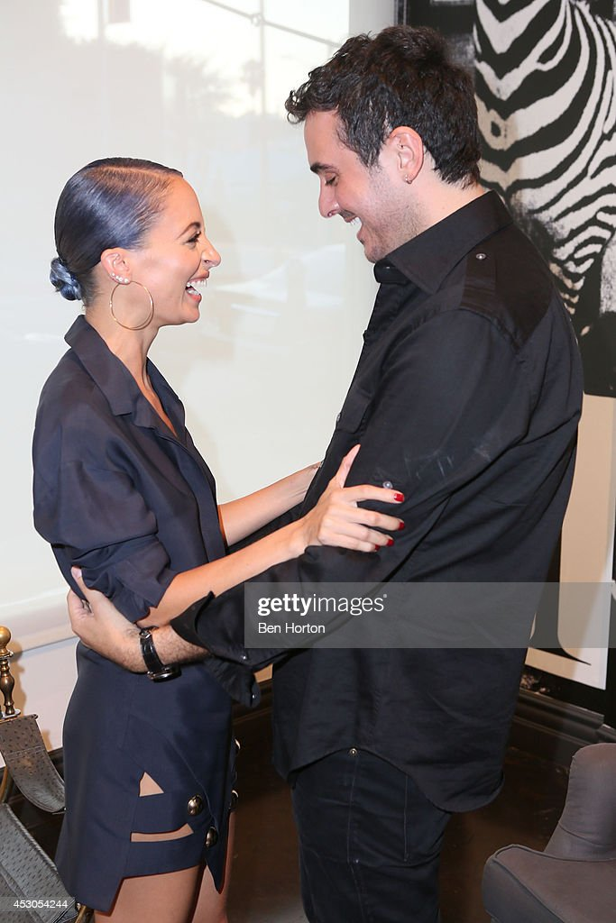 TV personality Nicole Richie and interior designer Ryan Korban attend Nicole Richie, Eric Buterbaugh and Nevena Borissova host Ryan Korban's 'Luxury Redefined' on August 1, 2014 in Los Angeles, California.