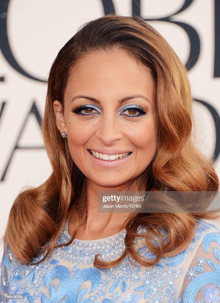 TV personality Nicole Richie arrives at the 70th Annual Golden Globe Awards held at The Beverly Hilton Hotel on January 13, 2013 in Beverly Hills, California.