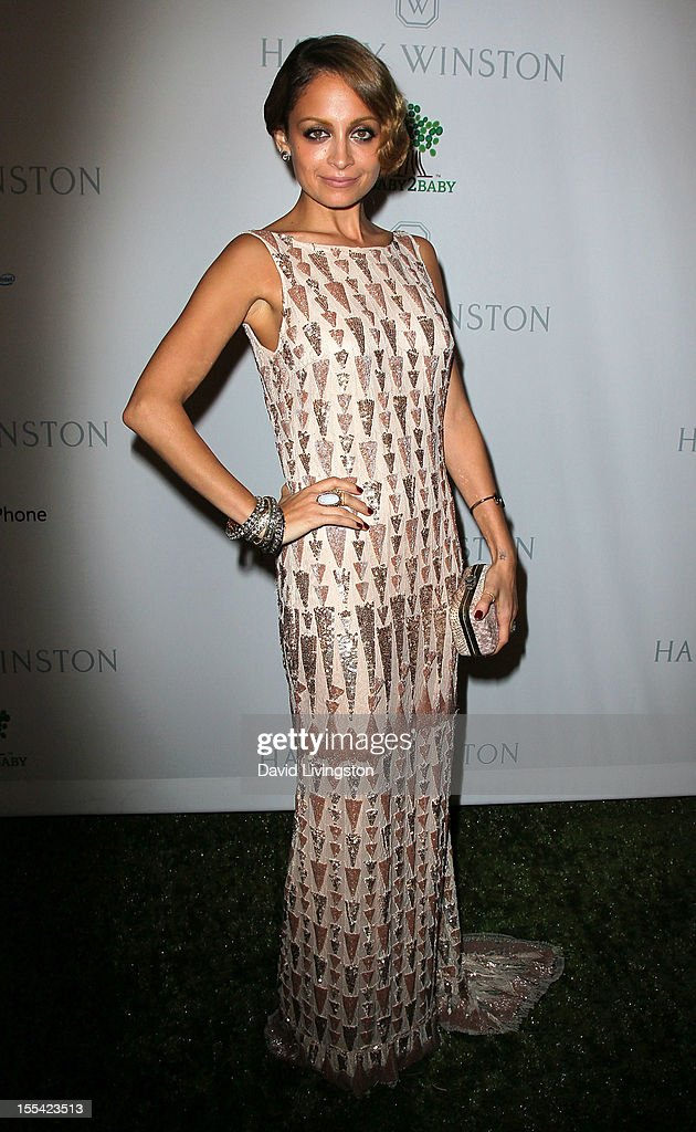 TV personality <a gi-track='captionPersonalityLinkClicked' href=/galleries/search?phrase=Nicole+Richie&family=editorial&specificpeople=201646 ng-click='$event.stopPropagation()'>Nicole Richie</a> attends the 1st Annual Baby2Baby Gala at The BookBindery on November 3, 2012 in Culver City, California.
