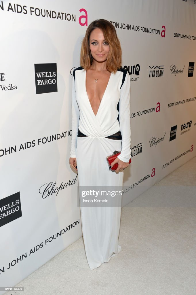 TV personality <a gi-track='captionPersonalityLinkClicked' href=/galleries/search?phrase=Nicole+Richie&family=editorial&specificpeople=201646 ng-click='$event.stopPropagation()'>Nicole Richie</a> attends the 21st Annual Elton John AIDS Foundation Academy Awards Viewing Party at West Hollywood Park on February 24, 2013 in West Hollywood, California.