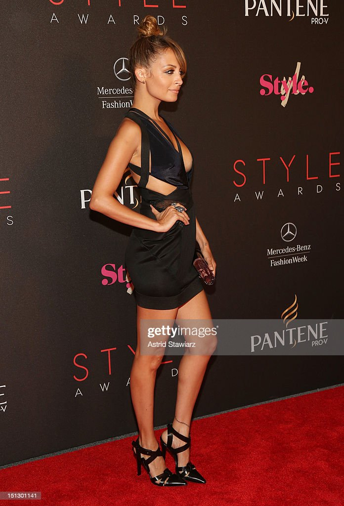 TV personality Nicole Richie attends the 9th annual Style Awards during Mercedes-Benz Fashion Week at The Stage at Lincoln Center on September 5, 2012 in New York City.