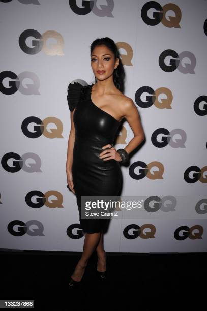 Personality Nicole Scherzinger arrives at GQ's 2011 'Men of the Year' Party held at Chateau Marmont on November 17 2011 in Los Angeles California