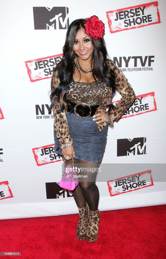 TV Personality Nicole 'Snooki' Polizzi attends 'Love, Loss, (Gym, Tan) and Laundry: A Farewell To The Jersey Shore' during the 2012 New York Television Festival at 92Y Tribeca on October 24, 2012 in New York City.