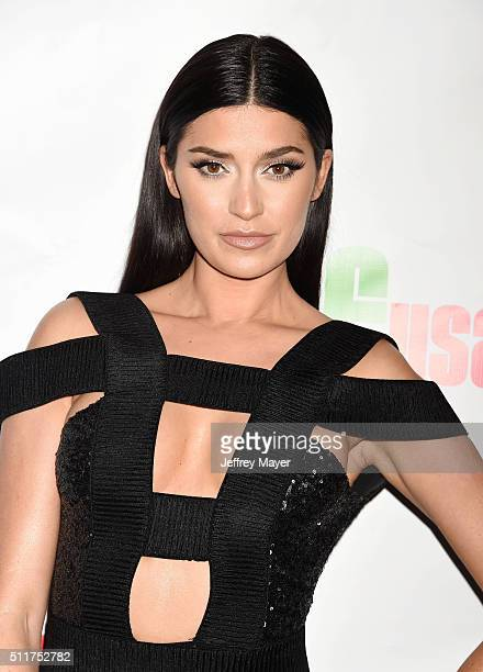 TV personality Nicole Williams attends the 2nd Annual Hollywood Beauty Awards benefiting Children's Hospital Los Angeles at Avalon Hollywood on...