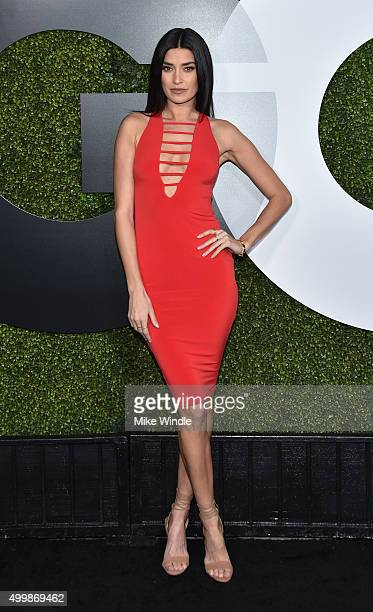TV personality Nicole Williams attends the GQ 20th Anniversary Men Of The Year Party at Chateau Marmont on December 3 2015 in Los Angeles California