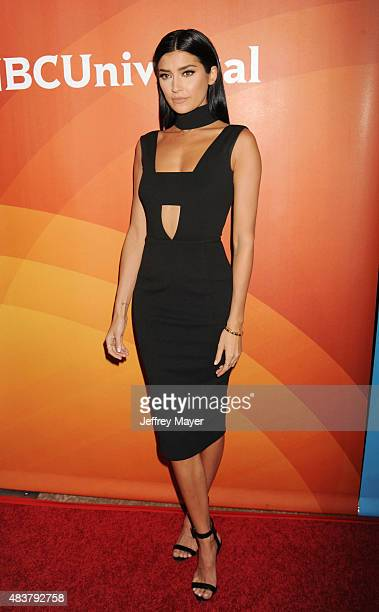 TV personality Nicole Williams attends the NBCUniversal press tour 2015 at the Beverly Hilton Hotel on August 12 2015 in Beverly Hills California