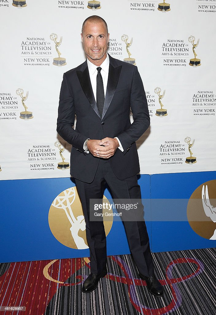 TV personality <a gi-track='captionPersonalityLinkClicked' href=/galleries/search?phrase=Nigel+Barker&family=editorial&specificpeople=691819 ng-click='$event.stopPropagation()'>Nigel Barker</a> attends the 57th Annual New York Emmy Awards at Marriott Marquis Times Square on March 30, 2014 in New York City.