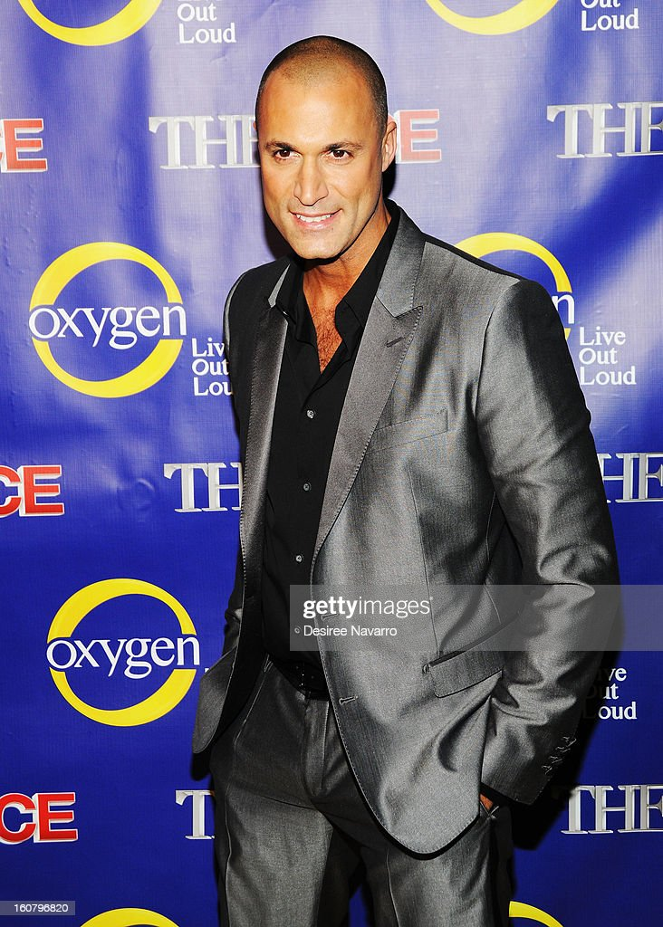 TV Personality Nigel Barker attends 'The Face' Series Premiere at Marquee New York on February 5, 2013 in New York City.