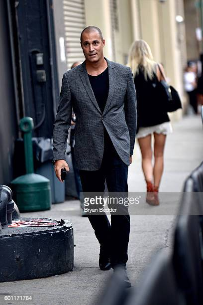 Personality Nigel Barker is seen around New York Fashion Week The Shows September 2016 at The Gallery Skylight at Clarkson Sq on September 9 2016 in...