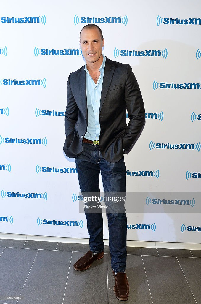 TV personality Nigel Barker visits SiriusXM Studios on November 23, 2015 in New York City.